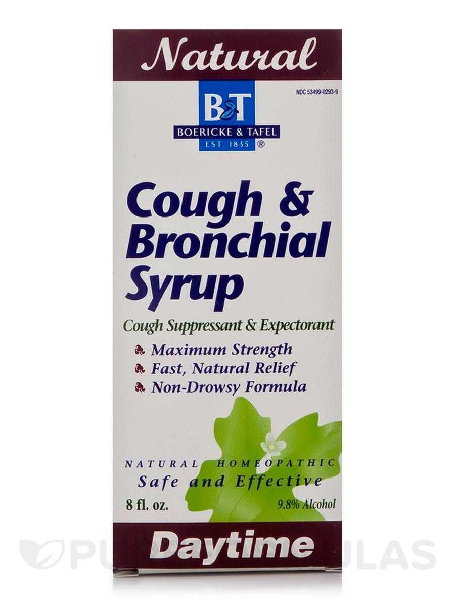 Cough bronchial syrup 8 oz by boericke and tafel