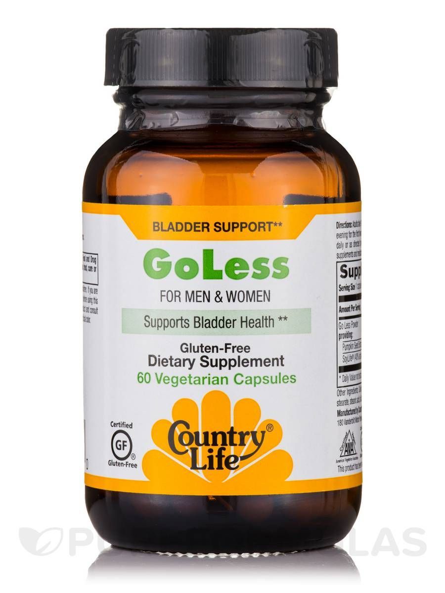 Go less 60 vegetarian capsules by country life