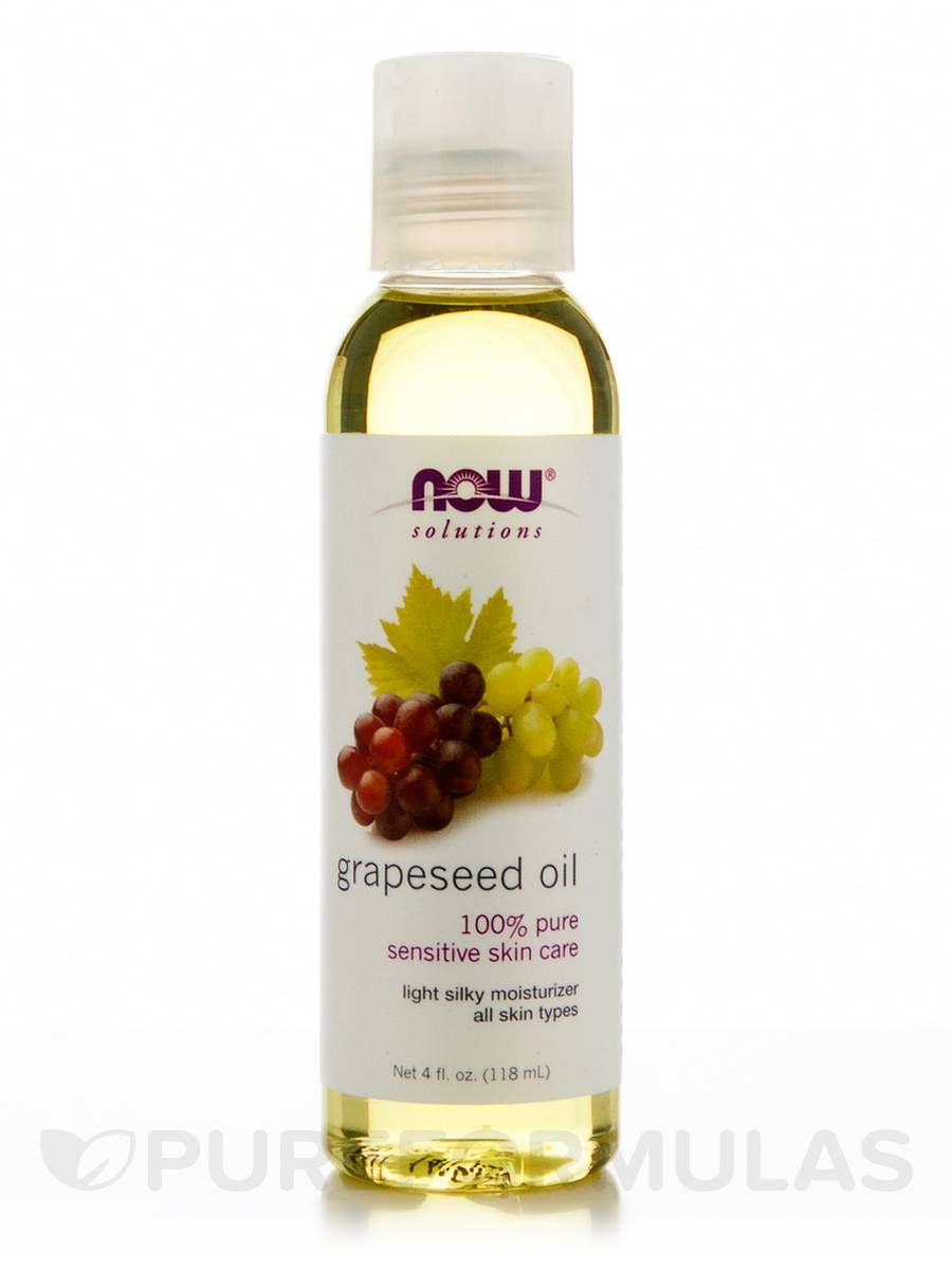Grapeseed oil 4 oz by now
