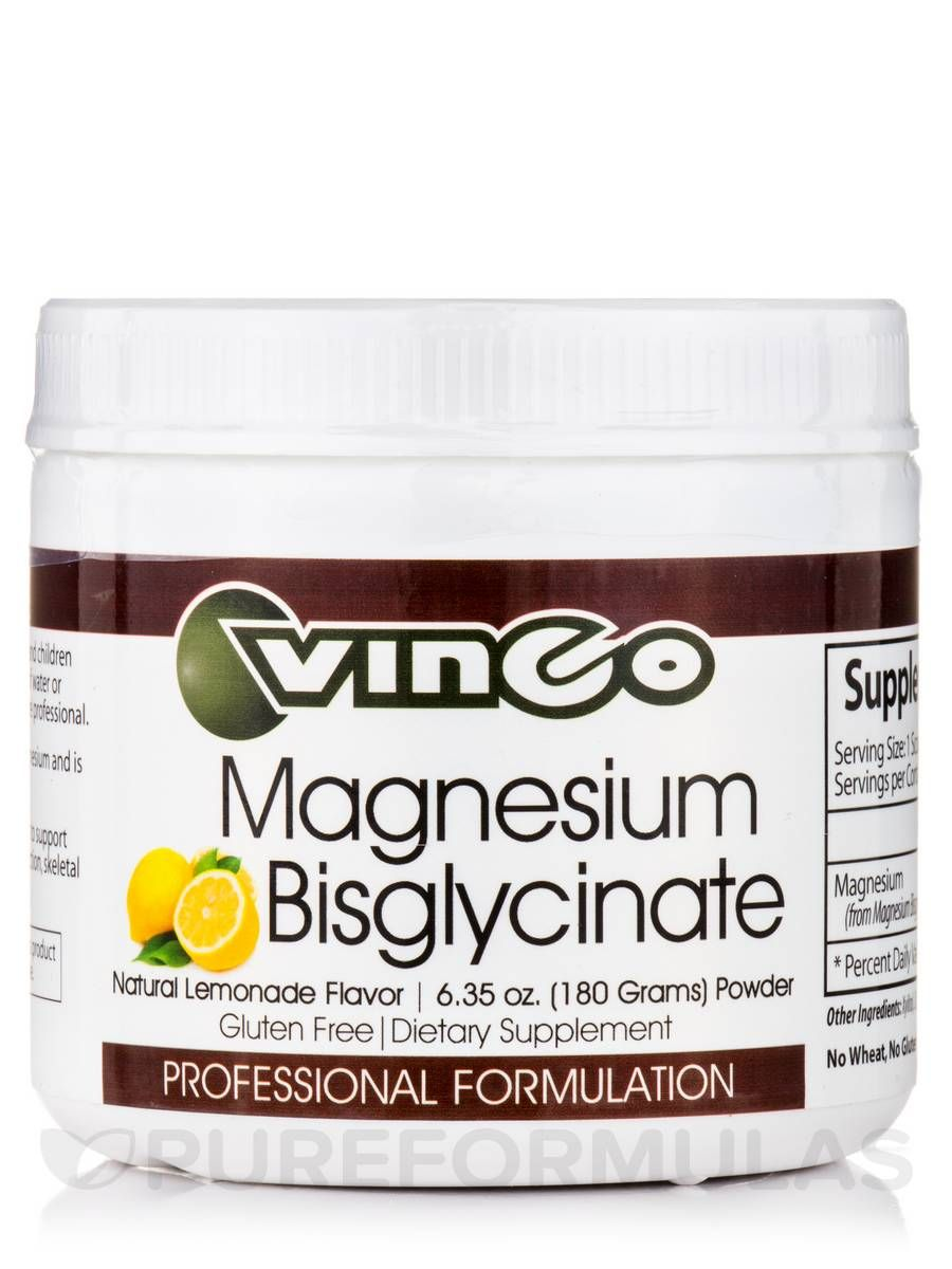 Magnesium glycinate 7 oz by vinco