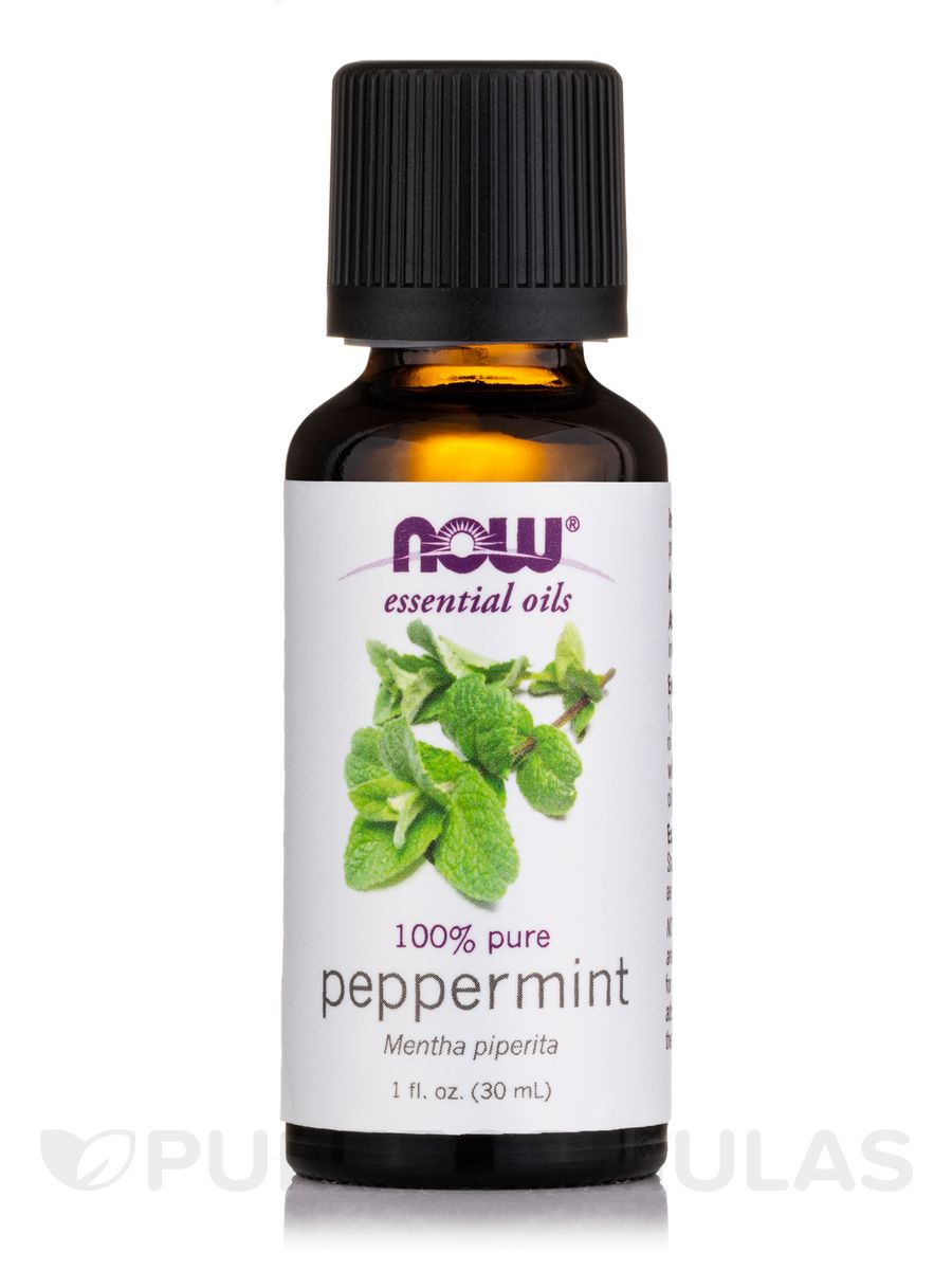 Peppermint oil 1 oz by now