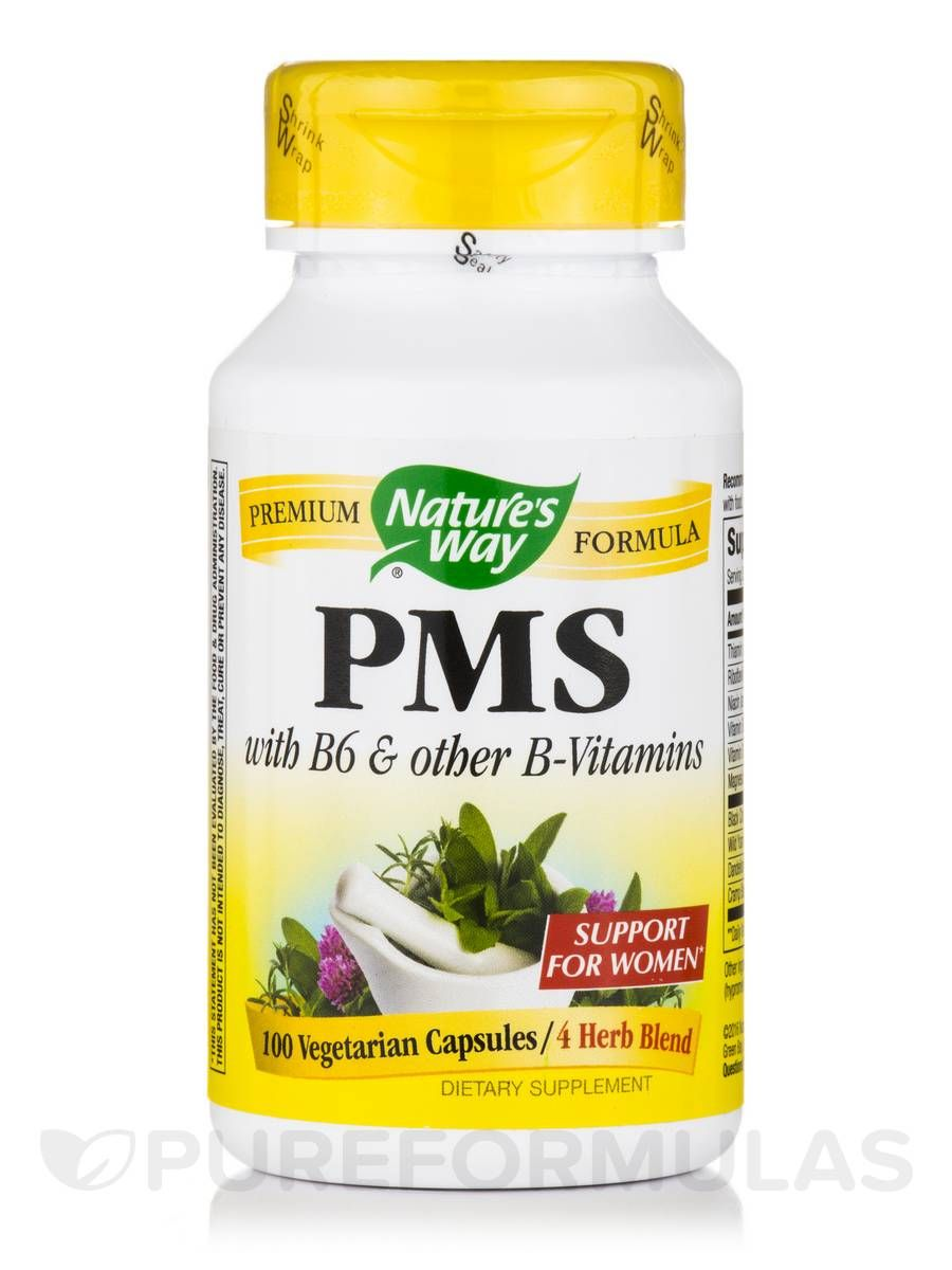 Pms 100 capsules by natures way
