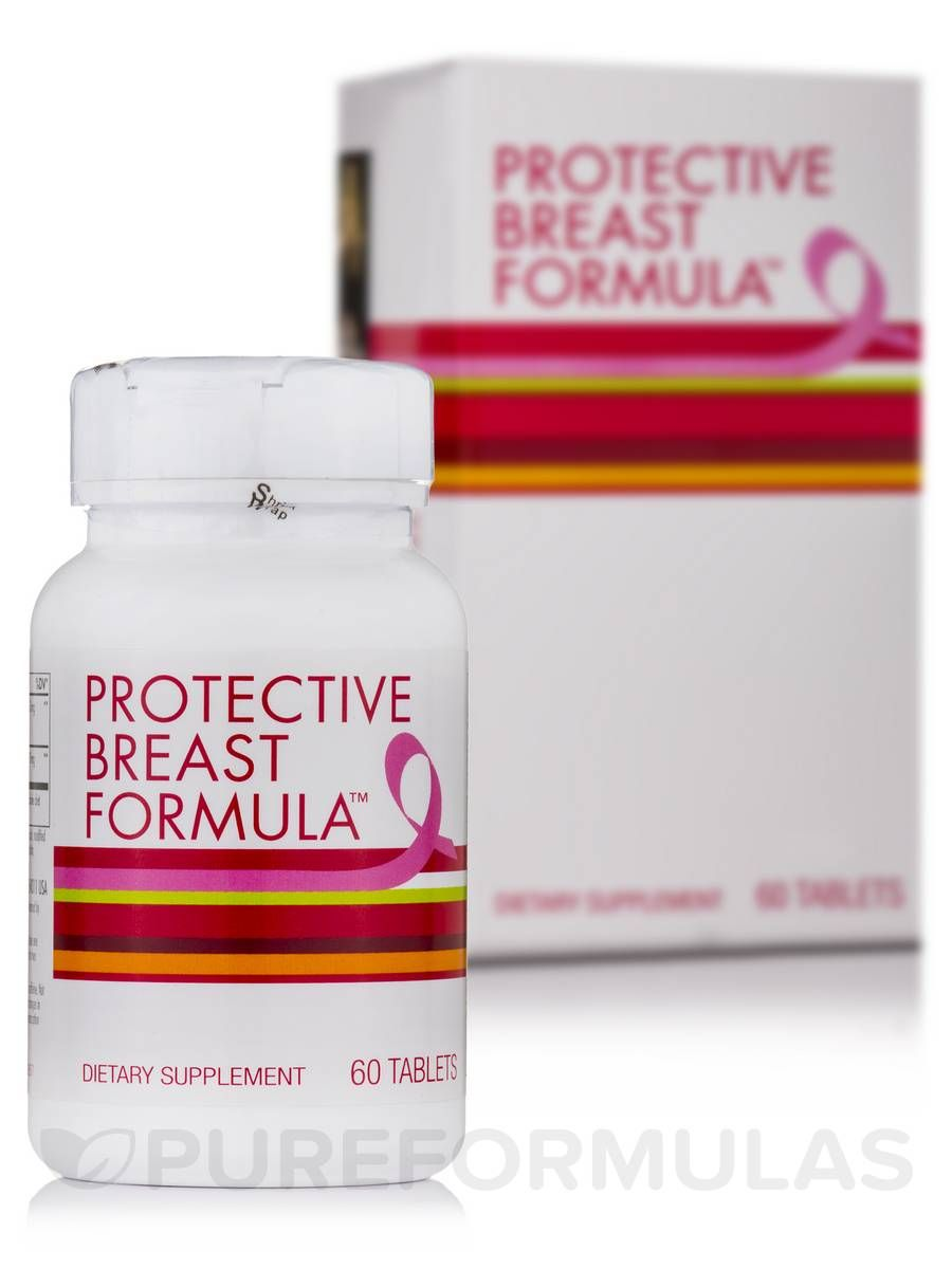 Protective breast formula 60 tablets by enzymatic therapy