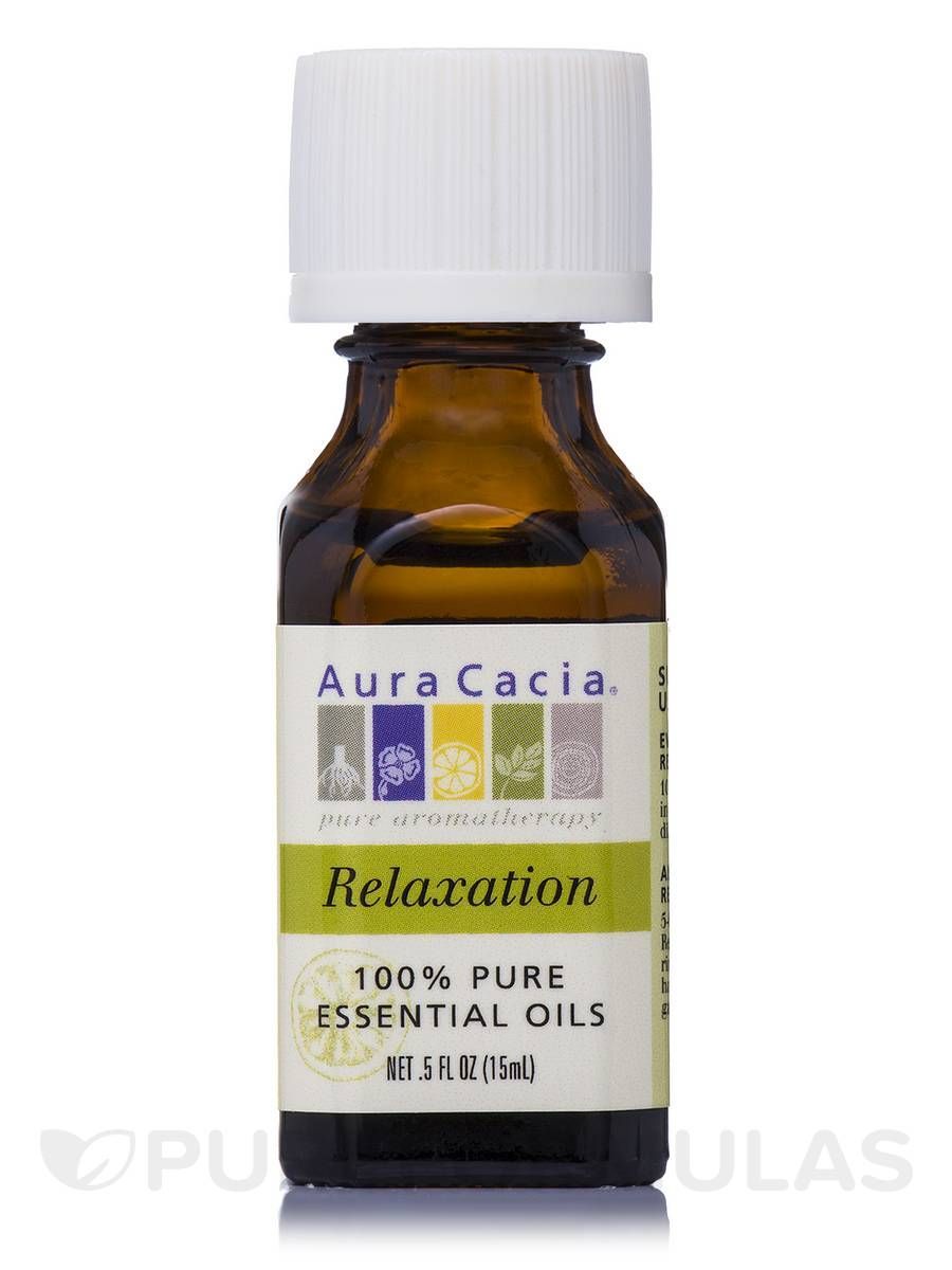 Relaxing citrus aromatherapy oil blend 05 fl oz by aura cacia