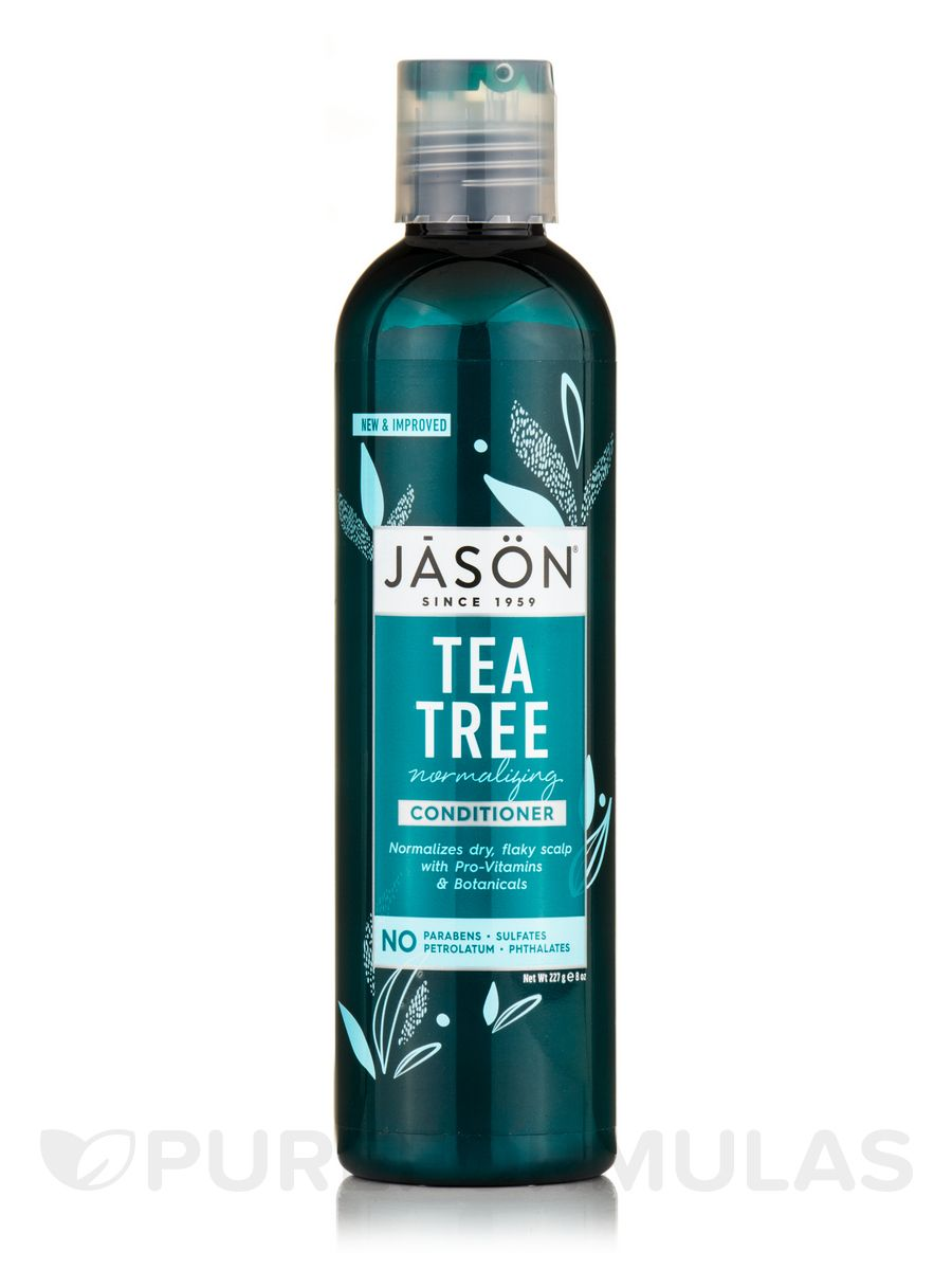 Tea tree scalp normalizing conditioner 8 oz by jason natural products