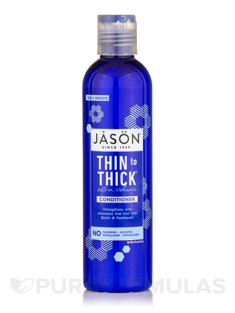 Thin to thick extra volume conditioner 8 oz by jason natural products