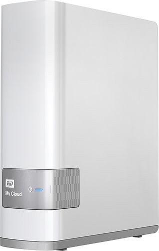 WD - My Cloud 6TB External Hard Drive (NAS) - White